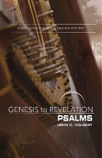 Cover Genesis to Revelation: Psalms Participant Book