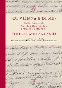"""Cover """"Di Vienna e di me"""""""
