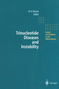 Cover Trinucleotide Diseases and Instability