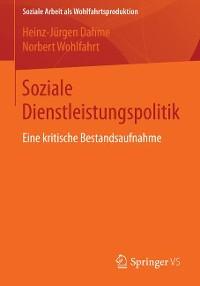 Cover Soziale Dienstleistungspolitik