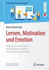 Cover Lernen, Motivation und Emotion