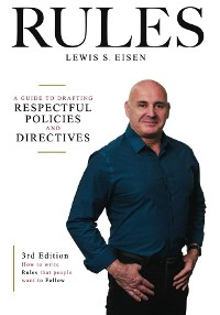 Cover How to Write Rules That People Want to Follow, 3rd Edition