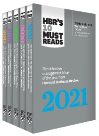 Cover 5 Years of Must Reads from HBR: 2021 Edition (5 Books)
