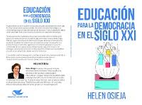 Cover Educación para la Democracia en el Siglo XXI