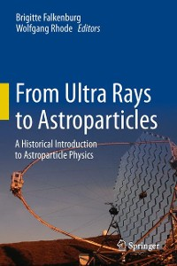 Cover From Ultra Rays to Astroparticles