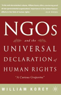 Cover NGO's and the Universal Declaration of Human Rights