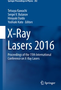 Cover X-Ray Lasers 2016